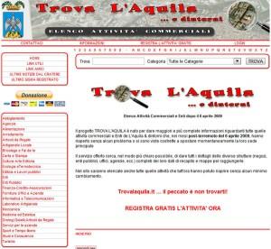 Trova L'Aquila - Elenco Attività Commerciali - trovalaquila.it - by daDiCA.net
