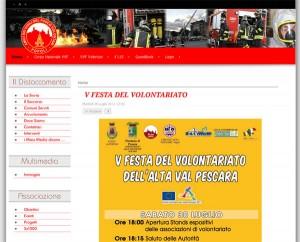 Amici dei Vigili del Fuoco Volontari di Popoli - vvfpopoli.it - by daDiCA.net