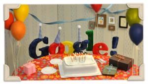 Doodle del 13° Compleanno di Google
