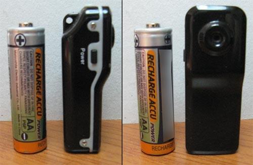 Grandezza MicroCamera