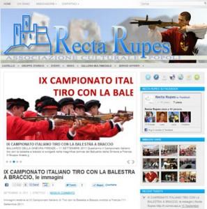 Recta Rupes - Associazione Culturale di Popoli - Certame de la Balestra