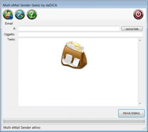 Multi eMail Sender (ver Beta) - daDiCA.net Software