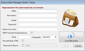 Multi eMail Sender (ver Beta) - Setup - dadica.net Software