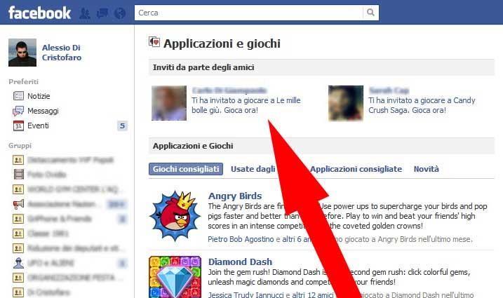 Facebook bloccare Applicazione (2) - dadica.net