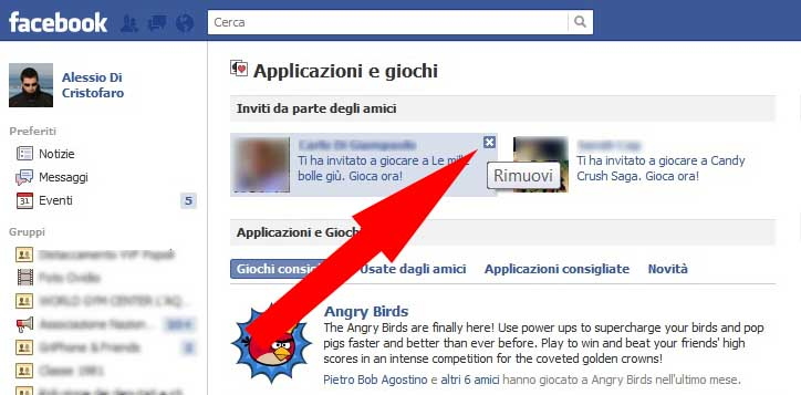 Facebook bloccare Applicazione (3) - dadica.net
