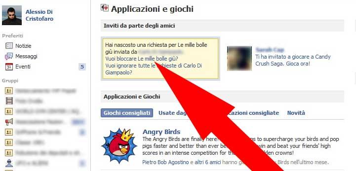 Facebook bloccare Applicazione (4) - dadica.net