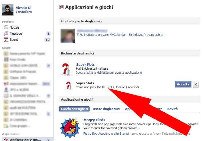 Facebook bloccare Richieste (1) - dadica.net
