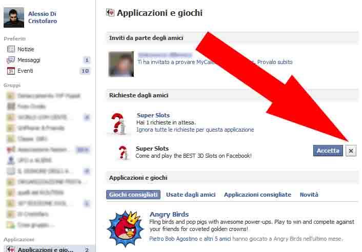 Facebook bloccare Richieste (2) - dadica.net