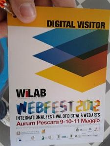 WebFest2012 Pescara - daDiCA.net