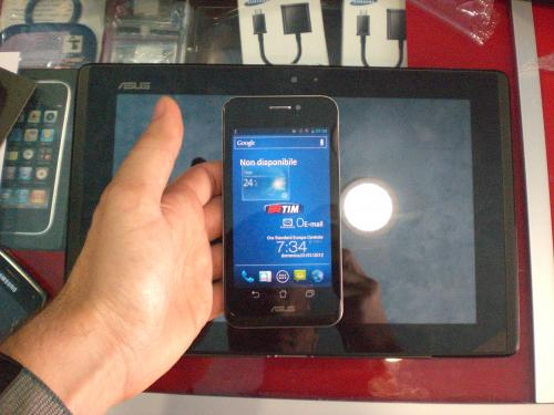 Asus PadFone e il suo Tablet Station