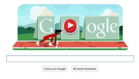 Google Doodle Corsa ad Ostacoli