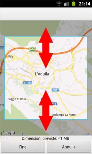 Google Maps - Mappa Offline - 003