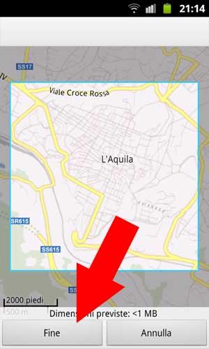 Google Maps - Mappa Offline - 004