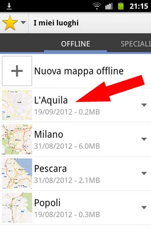 Google Maps - Mappa Offline - 005