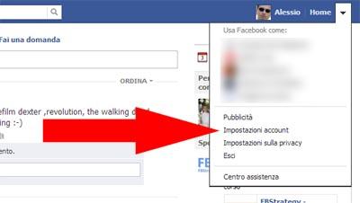 001 Impostazioni Account - Facebook