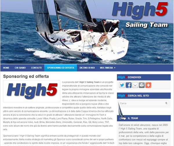 High5 Sailing Team Logo