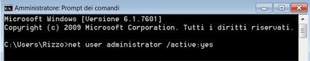 net user administrato