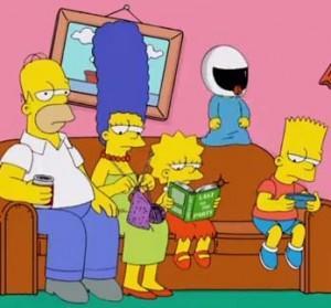 Harlem Shake Simpsons