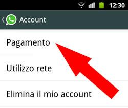 WhatsApp - Controllo scadenza Passo 3