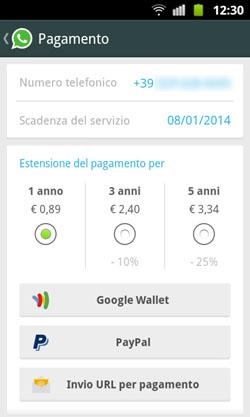 WhatsApp - Controllo scadenza Passo 4